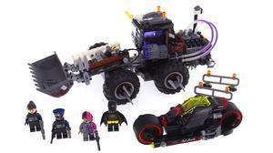 双重毁灭 积木速拼蝙蝠侠双面人破坏机