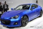 2011东京车展 斯巴鲁正式发布BRZ跑车