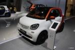 全新smart亮相2014年巴黎车展 造型更呆萌