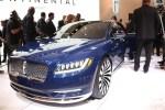 2015纽约车展 林肯Continental概念车亮相