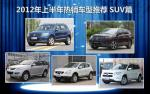 2012年上半年热销车型推荐 SUV篇