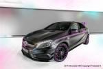 奔驰发布A45 AMG特别版 以粉色为主基调