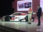 奥迪R8 LMS GT3亮相 车身减重/强度提升