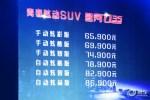 昌河Q35上市 售价6.59万-8.69万元