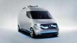 搭载无人机的大面包 奔驰Van商务概念车