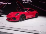 2017日内瓦车展:保时捷新款911 GT3首发