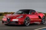 全新阿尔法·罗密欧4C假想图 或与Giulia同平台打造