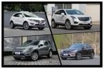 四款个性豪华中型SUV推荐 颜值配置兼具