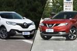 东风雷诺2017款科雷嘉对比东风日产逍客 亲民紧凑型SUV对决