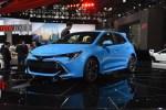 2018纽约车展:丰田全新卡罗拉两厢掀背版亮相