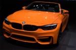宝马M4敞篷版亮相纽约车展 橙色车漆/全新轮圈