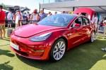 特斯拉Model 3正式亮相2018古德伍德速度节 欧洲首秀