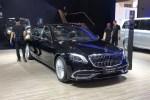 2018成都车展:新款梅赛德斯-迈巴赫S级上市 售140.88万元