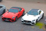 奔驰新款AMG GT路试照曝光 或搭3.0T混合动力