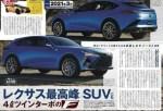 雷克萨斯或推4.0T双涡轮高性能SUV 有望2021年初发布