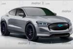 福特跨界纯电版Mustang预告图曝光 预计2020年正式亮相