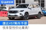10.68万元起的德系中型SUV 捷达VS7买哪款最值?
