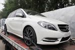 新一代奔驰B级抵京 将在北京车展首发