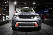 2017法兰克福车展:路虎发现SVX正式亮相