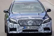 新款AMG C63旅行版谍照曝光 内外细节变化
