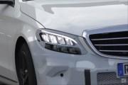 奔驰新款C级最新谍照曝光 全新LED头灯/2018年北美车展发布