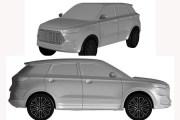 长城全新SUV车型专利申报图 或为新款H6 Coupe车型