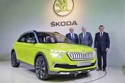 斯柯达2020年内推19款新车 Vision X concept量产版明年推出