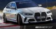 2021款BMW M3假想图  3.0升双涡轮直列六缸发动机输出503hp
