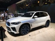 BMW i Hydrogen NEXT氢燃料电池概念车亮相2019法兰克福车展