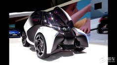 丰田i-TRIL概念车日内瓦车展亮相