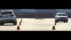 风神AX7 超级评测操控稳定性测试