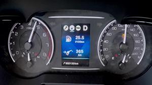 风神AX7超级评测0-100km/h加速仪表盘
