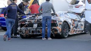 兰博基尼Aventador SVJ纽北跑圈速,目标保时捷GT2 R