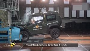 全新吉姆尼欧洲NCAP碰撞试验,终得三星