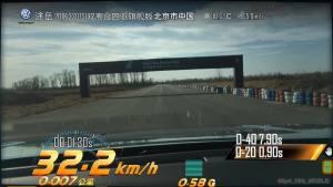 大众途岳超级评测加速测试视频