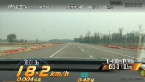 丰田凯美瑞超级评测加速测试