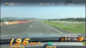 雪佛兰创酷超级评测加速测试。