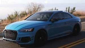 奥迪 RS5 STAGE2 比V8更好 疯狂 快速 漂亮