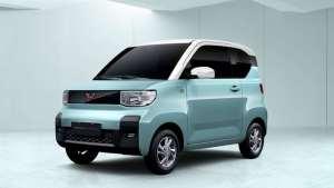 身小力坚 国产K-car 五菱宏光MINI EV NEDC综合续航170/120km