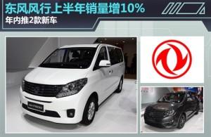 春风风行上半年销量增10% 年内推2款新车