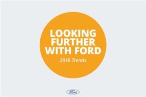 福特2016趋势报告:大发一分彩人易接受智能汽车
