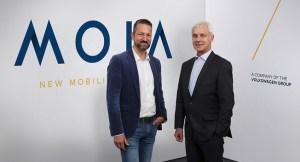 发布Moia 大众加快向移动出行服务转型