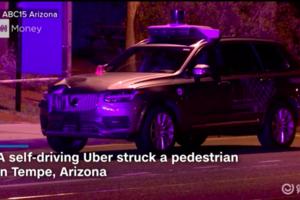 【突发】Uber自动驾驶发生致命事故,一行人死亡