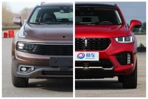 新晋SUV双雄的碰撞 领克01与VV5 只对比你关心的