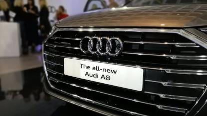 直击车展:全新A8领衔奥迪重磅车型