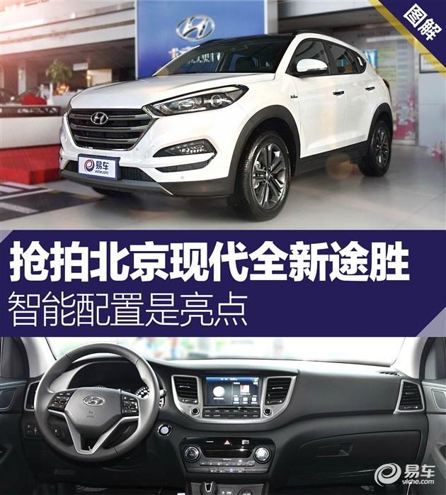 北京现代全新途胜实拍 智能配置是亮点高清图片
