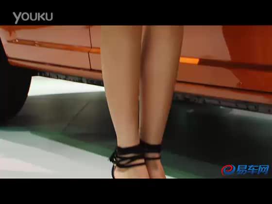 2011上海车展 道奇展台性感豹纹美女