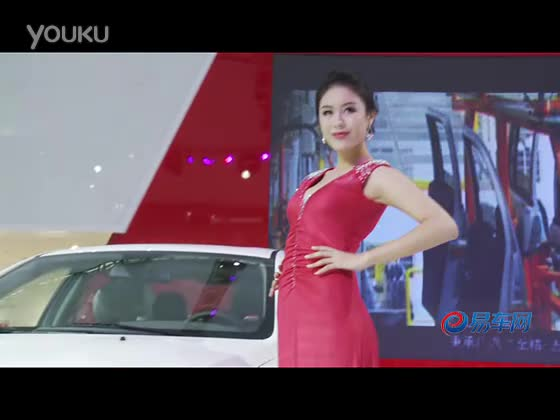 2011广州车展  猎豹欧酷曼车模