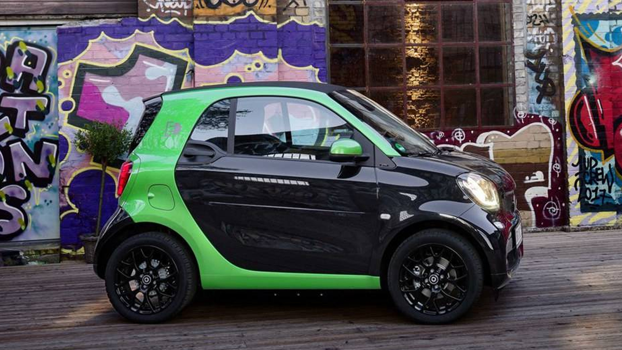 "smart fortwo 呆萌""小精灵""动态展示"