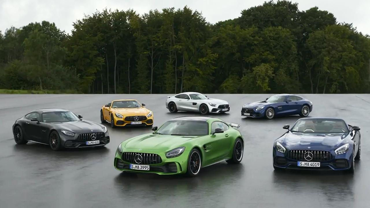 奔驰AMG GT家族全系 赛道激情驰骋
